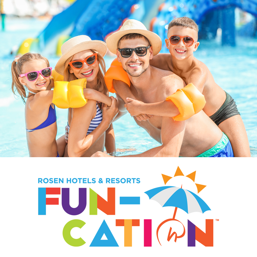 Rosen Hotels & Resorts Fun-Cation Orlando, Florida | Lake Buena Vista